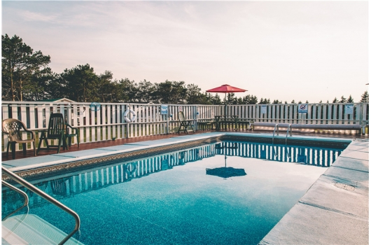 Swimming Pool with Large Sundeck